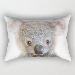 Koala Art Print by Zouzounio Art Rectangular Pillow