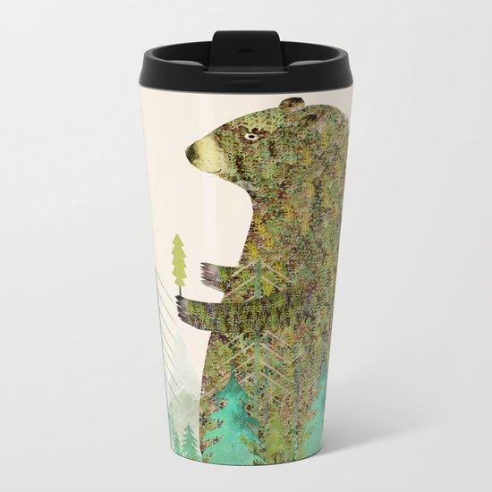 the forest keeper Metal Travel Mug