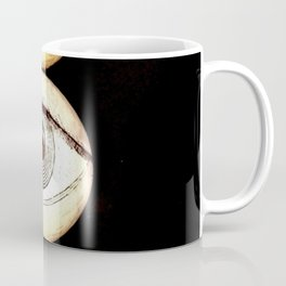 Three Eyes, Eyeballs Watching You Coffee Mug