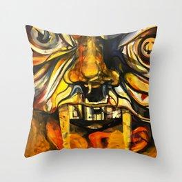 Internal Monsters Throw Pillow