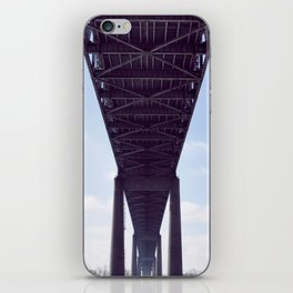 cantilever bridge  iPhone Skin