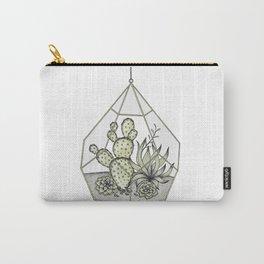 Succulent Terrarium Carry-All Pouch