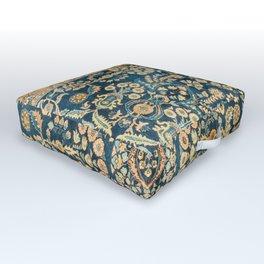 Sarouk  Antique West Persian Rug Print Outdoor Floor Cushion