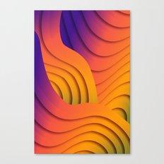 Bold Waves Canvas Print