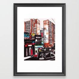 Masan, South Korea Framed Art Print