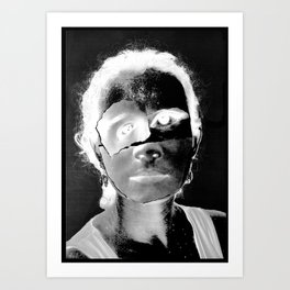 Jane Doe (Identity Series) Art Print
