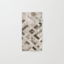 Abstract Pattern in Subtle Hand & Bath Towel