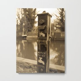 Water Point Metal Print