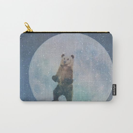 Bear Moon Carry-All Pouch