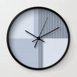 Figaro in Blue Wall Clock