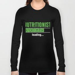 Health Conscious Dietitian Diet Food Vegan Veggies Gift Nutritionist Loading Long Sleeve T-shirt