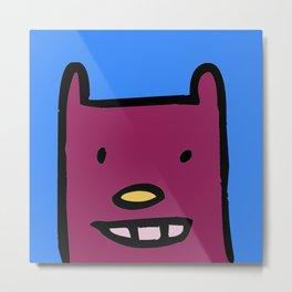 chalkboard wallies childrens art Metal Print