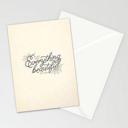 EVERYTHING BEAUTIFUL Stationery Cards