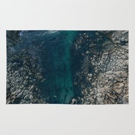 ocean blues II Rug