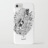harry potter iPhone & iPod Cases featuring Harry Potter by Grace Fernandes