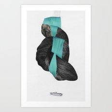Langfoss Art Print