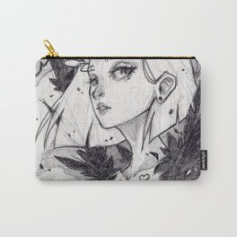 Harpy (graphite) Carry-All Pouch