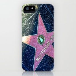 """Jack Nicholson"" (2013) iPhone Case"