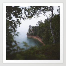 Miners Castle | Pictured Rocks, Upper Peninsula, Michigan | John Hill Photography Art Print