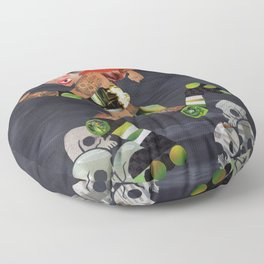 Derby Doll Floor Pillow