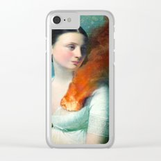 Portrait of a Heart Clear iPhone Case