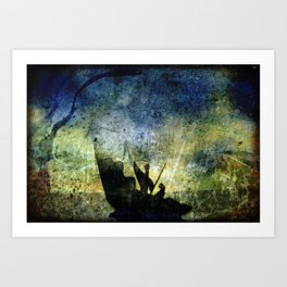 Charon Trip / Strange Trip Art Print