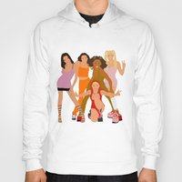 spice girls Hoodies featuring Spice Girls by Greg21