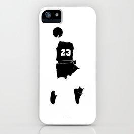 Faceless Basketball MJ Jordan iPhone Case