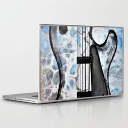 Guitar Art. Featured on back cover of The Music and Art of Black Cat Records. Laptop & iPad Skin
