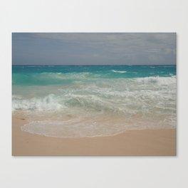 Beautiful Beach Bermuda 4 Canvas Print