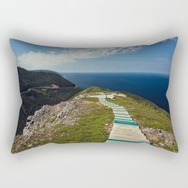 skyline walkway Rectangular Pillow