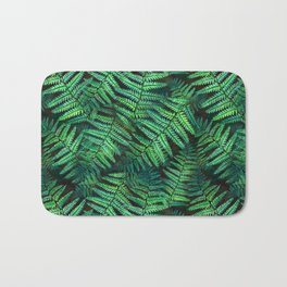 Among the Fern in the Forest Bath Mat