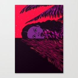 Summer Night Sadness Canvas Print