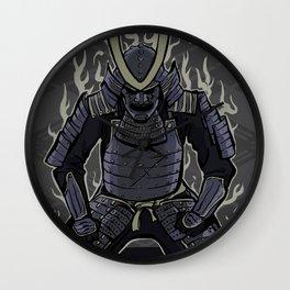 Samurai Spirit Wall Clock