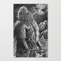 elf Canvas Prints featuring elf by Sean Douglas