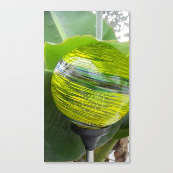 Lime Jello Canvas Print