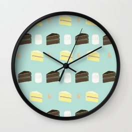 piece of cake Wall Clock