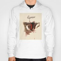 coffe Hoodies featuring coffe by tatiana-teni