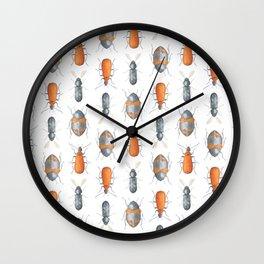 Safari Pattern #1 Wall Clock