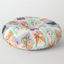 Cat land Floor Pillow