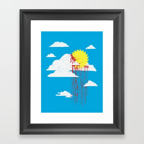 From a Lacerated Sky Framed Art Print