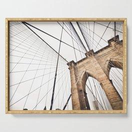 Brooklyn Bridge I Serving Tray