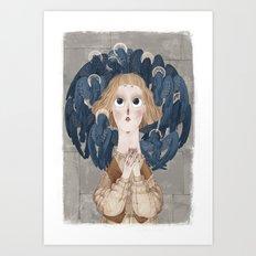 Joan of Arc - Voices Art Print