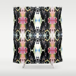 Under The Microscope (Pattern 4) Shower Curtain