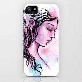 Ink Fairy iPhone Case