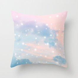 Pastel Cosmos Dream #2 #decor #art #society6 Throw Pillow