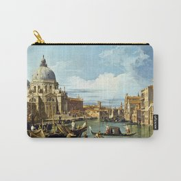 Canaletto Bernardo Bellotto - The Entrance To The Grand Canal, Venice Carry-All Pouch