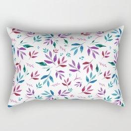 Lovely Leafery Rectangular Pillow