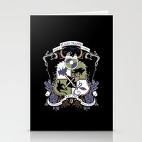 how to train your dragon Stationery Cards featuring Dragon Training Crest - How to Train Your Dragon by CaptainLaserBeam