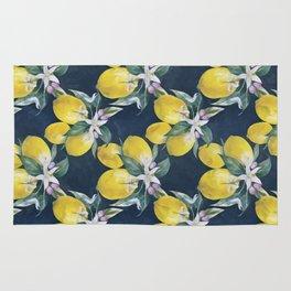Lemons pattern Rug